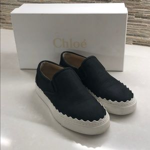 f974450e Chloe Shoes | Ivy Scallop Slip On Sneakers | Poshmark